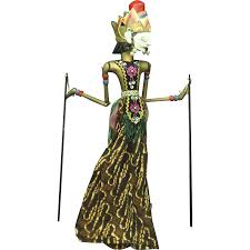 shadow puppets for sale vintage java shadow puppet doll for wayang kulit from