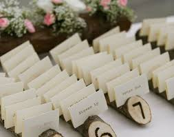 table rustic place cards beautiful table name tags escort cards