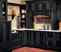 black kitchen cabinets images black cabinets with vintage finishing technique decora