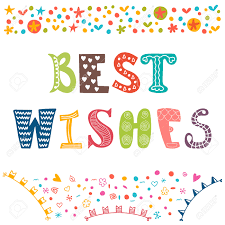 best wishes motivational poster inspirational colorful