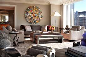 Elegante Wohnzimmer Deko Wohnzimmer Sandfarbene Wände