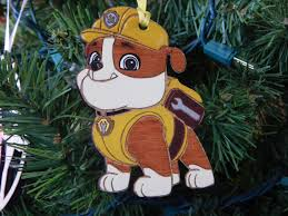 rubble personalized christmas ornament free shipping