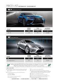 lexus singapore lexus singapore printed car price list oneshift com