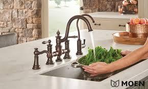 moen waterhill kitchen faucet faucets bath kitchen showplace