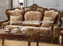 Pakistan Handmade Furniture Sofa SetTraditional Pakistan - Teak wood sofa set designs
