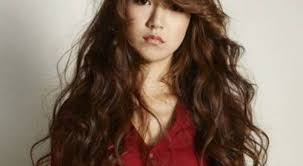 hairstyles asian hair hairstyles for long asian hair korean middle long curly hairstyle