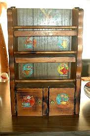 Antique Spice Rack Spice Racks Collection On Ebay