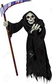 halloween horrible grim reaper royalty free cliparts vectors and