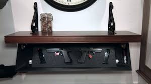in wall gun cabinet tactical walls not your father s gun safe youtube