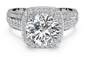 cushion ring cut masterwork cushion halo diamond band engagement