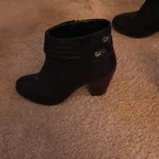 womens flat black boots size 12 shoes on poshmark