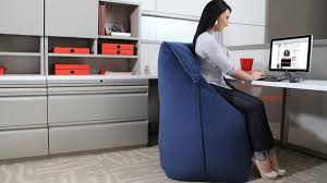Comfortable Chairs To Use At Computer 7 Ways You Can Use Bean Bags In The Office Forge3