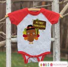 my thanksgiving baby turkey shirt boy or