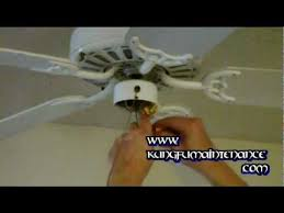 how to replace a ceiling fan light kit youtube