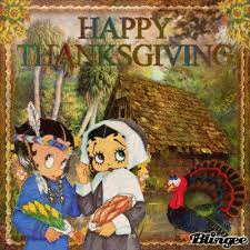 betty boop thanksgiving wallpaper