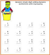 pictures on halloween math games easy worksheet ideas
