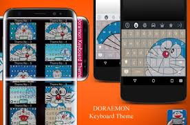 keyboard themes for android free download the doramon keyboard theme apk download free personalization app