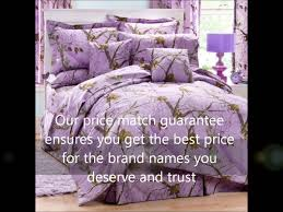 girls camouflage bedding realtree all purpose purple camo bedding youtube