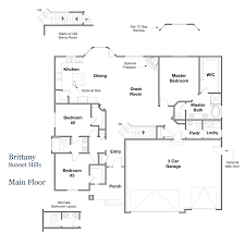 floor plans brittany sunset hills liberty homes