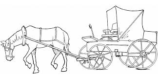 coloring sheets of a horse horse and carriage coloring pages coloring pages for children