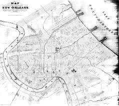 New Orleans State Map by Rootsweb Laorlean L Re Laorlean L Historical Maps Showing