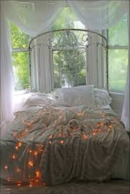 bedroom magnificent hanging christmas lights on the wall white