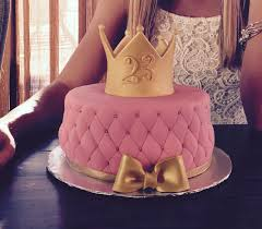 girly birthday cake for my 23rd birthday this cake was made by