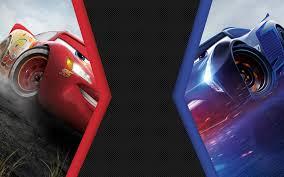 cars 3 lightning mcqueen vs jackson storm 4k 8k cars movie