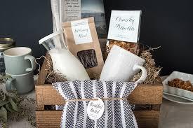 breakfast basket purim breakfast basket gift favor ideas from evermine