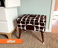 Diy Ottomans Before After Ottoman Transformation Ottomans Diy Ottoman And