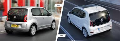 vauxhall volkswagen volkswagen up facelift old vs new compared carwow