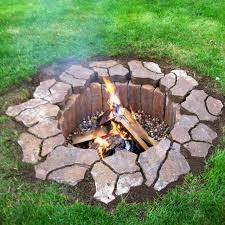 Brick Patio Diy by 38 Easy And Fun Diy Fire Pit Ideas Flagstone Pavers Bricks And