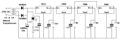 High Voltage Bench Power Supply - 70 interesting circuits