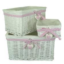 bathroom basket storage ideas with wicker storage baskets and