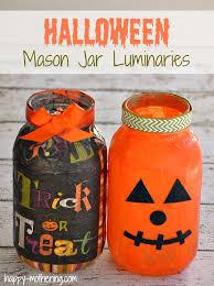 mason jar luminaries for halloween happy mothering