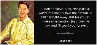 biography of ferdinand marcos top 22 quotes by ferdinand marcos a z quotes