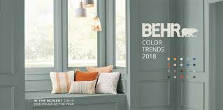 paint companies call for self actualization with 2018 colors of