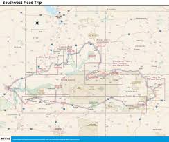 Old Route 66 Map by 14 Day Best Of The Southwest Road Trip Moon Travel Guides