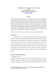 daftar pustaka merupakan format dari membuat sitasi dan daftar pustaka pdf download available