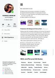Entrepreneur Resume Template 40 Resume Template Designs Freecreatives