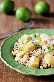 pigeon cuisine caribbean pineapple tofu pigeon pea rice kitchen