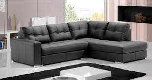 canapé d angle convertible cuir bandol cuir ou microfibre personnalisable sur univers du cuir