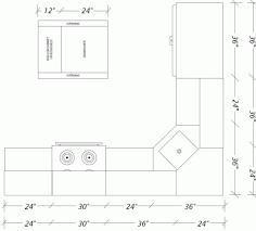 kitchen island spacing kitchen island spacing new minimum walking space for kitchens