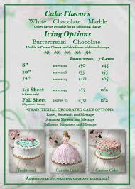 cake prices occasion cakes wixey bakery