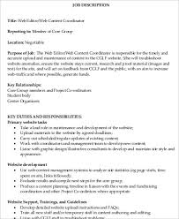 Sample Web Designer Resume by Web Designer Job Description Web Design Resume Sample Web