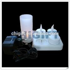 home and garden rechargeable electric candle buy decorative