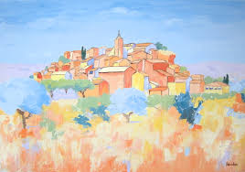 roussillon in summer by french paintings on deviantart