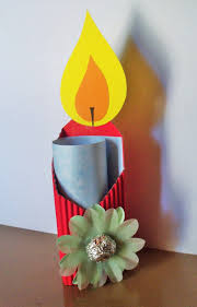 image result for toilet paper roll candle tissue paper flame