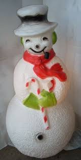 htf poloron mechanical frosty the snowman mold frosty