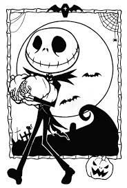 nightmare before christmas coloring pages diaet me